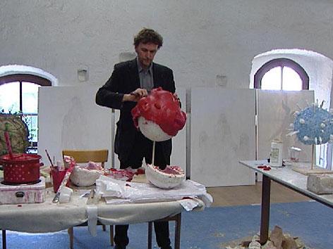 Künstlerklausur im Stift Rein
